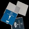 Etui pvc pour disques de stationnement format 15x15 cm