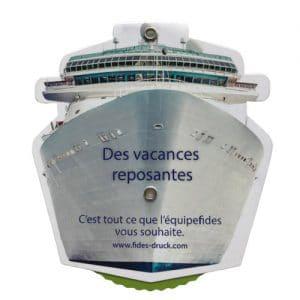 """Etiquette """"bateau"""""""