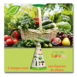 pochette disque légumes générique