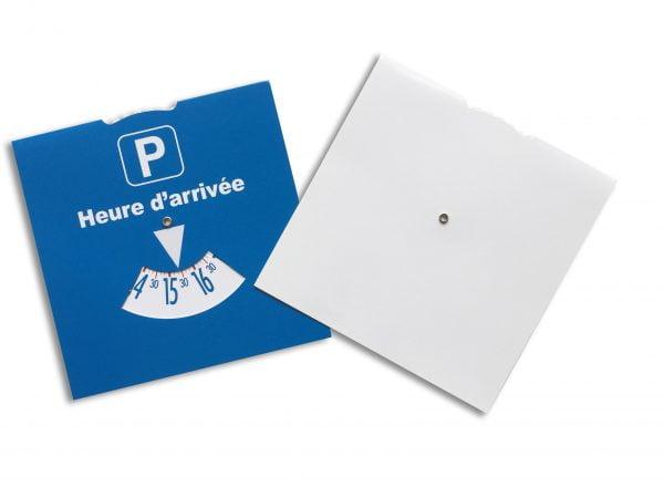 Disque de stationnement standard 15x15 dos blanc