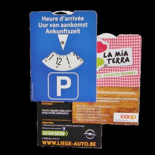 Disque de stationnement européen 11 x 15 cm