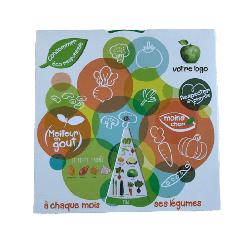Disques Fruits et Légumes de saison