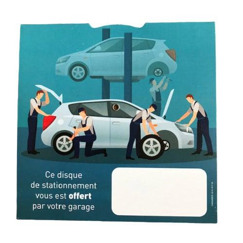 disque de stationnement garagistes